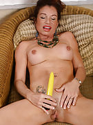 Exotic MILF performances the right option to use vibrating vibrator