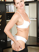 39 yr old Xena from 30 plus Ladies strips and spreads at just the workplace