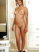 Exotic Neela from 30 plus Ladies struts the lady nude and also petite dark-colored body