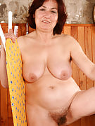 63 year familiar Hannah showing away this girl hairy old crotch