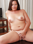 31 yr old MILF Lara Marinez spreads and additionally probes this girl meaty crotch