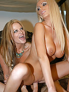 Kelly Madison & Nikki Benz0
