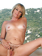 Popular golden-haired MILF Tina from 30 plus Ladies presents during the peak of the world