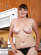 Busty Kimber D from 30 plus Ladies having some fun in the household