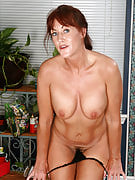 adult and also athletic redhead Shauna from 30 plus Ladies working out naked