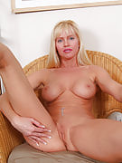 Very long haired golden-haired MILF alongside the titght ass spreads it comfortable