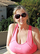 At 64 years of age Isabel from 30 plus Ladies really loves to pull her mature box